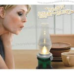 """""""Blow"""" LED Table Lamp, Rechargeable"""