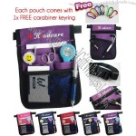 """Extra Pockets"" for Nurses Kindcare Nurses Pouch Waist Bag with Carabiner"