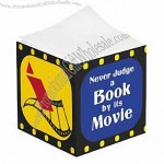 """Never Judge a Book by Its Movie"" Sticky Note Block"