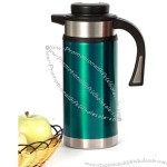 0.8L Cylindrical Stainless Steel Color Painted Water Milk Jug with Keep Warm Faction