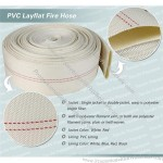 1-12 Inch PVC Lining Canvas Fire Hose