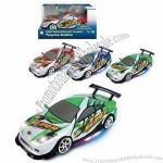 1:18 Friction Licensed Toy Cars in Lightweight, Operated with Battery