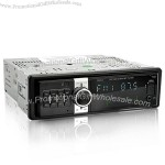 1 DIN Car Audio System with Anti-theft Detachable Panel - 50W x 4 OUT