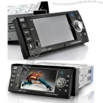 "1 DIN Car DVD Player 4.3"" Touchscreen, Bluetooth, Detachable"