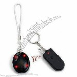 1-on-1 Radio Frequency Remote Control Keyfinder with Rotary LED
