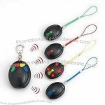 1-on-4 Radio Frequency Remote Control with Red LED Flashing and Sounding