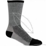 1 Pair - Dark Grey - Size 10-13 Boot Socks