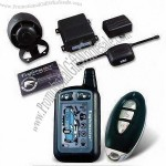 1.5km Transceiver Range Two-way Car Alarm with Passive Immobilizer