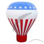 10' - Cold air advertising inflatable balloon with blower and carry bag