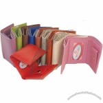 100% Genuine Leather Kids Wallet MultiColor