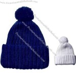 100% heavy gauge acrylic winter knitting cap.