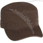 100% washed cotton twill Military Cap