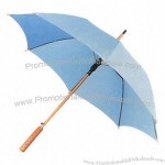 100cm Wooden Straight Umbrella