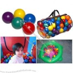 100pcs Kids Children Infant Fun Ballz Toy Ball Park Pit Balls 6 Colors