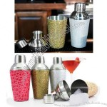 10oz Three Piece Fashion Shaker