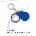 10x 30mm Foldable magnifier with keychain