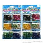 12 Bages ( 6 Colors Mixed) of Magic Growing Jelly Ball