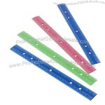 "12"" Metric & Inches Rulers"