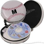 12 pieces PVC baseball CD holder.