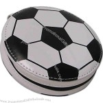 12 pieces PVC soccer CD holder.