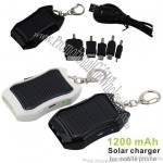 1200mah Portable Solar Charger With Micro USB for Iphone 4/4S/5 Samsung Galaxy/Note HTC