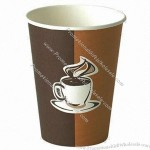 12oz Cafe Creme Hot Drink Disposable Paper Cup