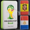 13000mAh Universal Portable Power Bank External Emergency Backup Battery Charger For Mobile Phone 2014 World Cup Gift