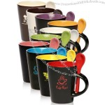 13oz Two Tone Spooner Mugs