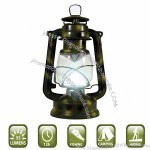 14 LED Hurricane Lantern with Dimmer Switch - Camouflage