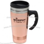 14 oz. Copper/Stainless Steel Travel Mug / Tumbler