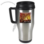 14 Oz. Domed Stainless Steel Auto Mate Mug