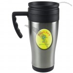 14 Oz. Domed Stainless Steel Budget Mug