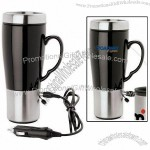 14 Oz. Legio Heated Ceramic & Steel Mug