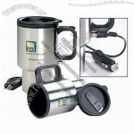 14 oz. Stainless Steel Electric Heating Car Mug