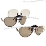 14FF Clips Onto Regular Eyeglasses with Magnification of + 4.00