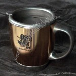 14oz Bronze Thermal Travel Mug