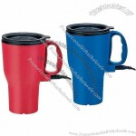 14oz Plastic Electric Heated Travel Mug