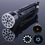 15 LED UV LASER Ultraviolet light Lamp Torch Flashlight