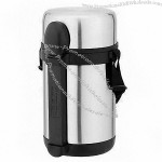 1500ml Stainless Steel Vacuum Food Flask with 3 Layers
