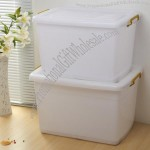 150L White Plastic Storage Box