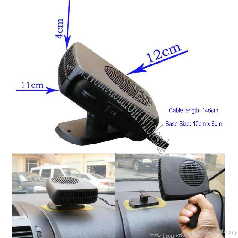 150w Portable Super 12v Electric Car Heater Windshield Defroster Exporters Customized