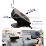 150W Portable Superpower 12V Electric Car Heater Windshield Defroster