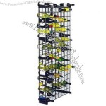 152 Bottle Metal Wine Rack