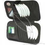 16 Cd Car Visor Organizer with Mirror