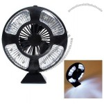 16 LED Bivouac Camping Tent Lamp Light w/ Fan