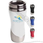 16 Oz Tumbler With Curved Design