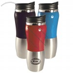 16 Oz. Two Tone Stainless Tumbler