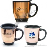 16oz Grand Copper Bistro Mug with Plastic Interior