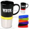 16oz Monza Color Stripe Mug