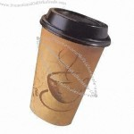 16oz Single Wall Disposable Coffee Cup